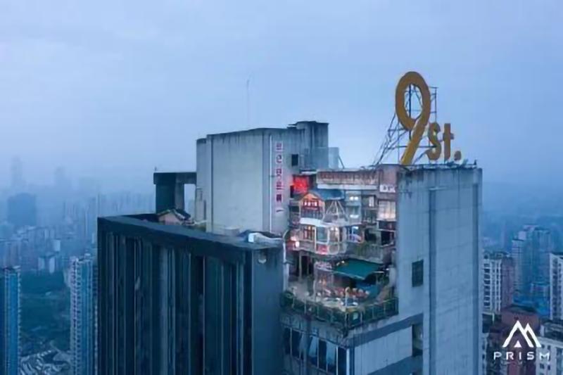 重庆网红广告牌起火!楼顶大字常见的质量问题及解决办法!